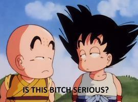 Dragon Ball Facepalm