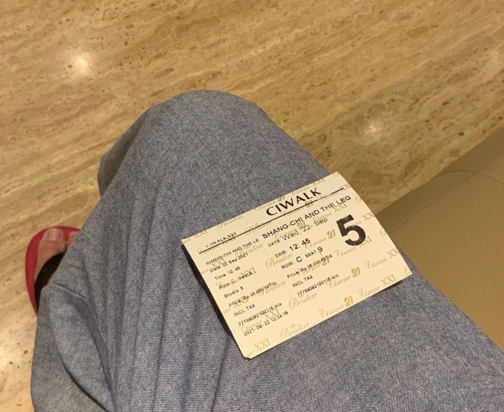 Tiket XXI Ciwalk untuk Shang-Chi and the Legend of the Ten Rings